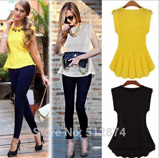 high quality women tops fashion Silk T Shirt Sleeveless